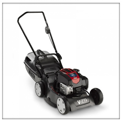 how to change blads ona victa mower